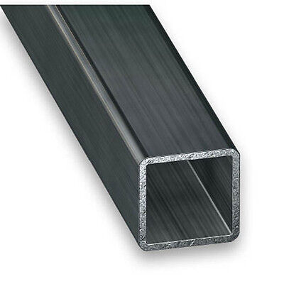 Cold Pressed Steel Square Tube - 10mm-25mm x 1mm-1.5mm x 1m