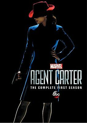 MARVEL'S AGENT CARTER : SEASON 1  -  DVD - OFFICIAL REGION 1 - Sealed IN STOCK!