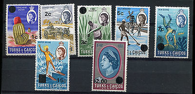 1967 Turks & Caicos   Small Lot Of Stamps  Mnh    Int695