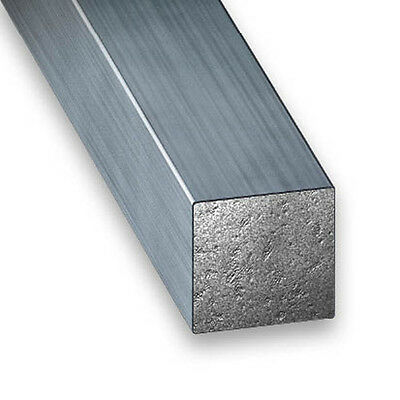 Drawn Steel Square Bar - 4mm-7mm x 1m