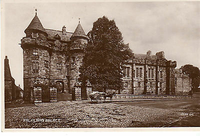 Falkland Palace - Real Photo Postcard c1910 Glenrothes Fife