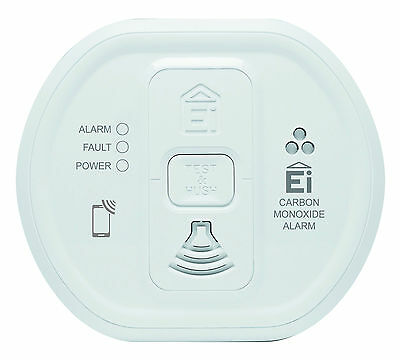 Aico EI208 Battery Carbon monoxide CO alarm 10 year life Audiolink Data transfer