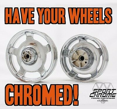 Show Quality Chrome Plating for your 2006-2013 Harley Street Glide Wheels Rims