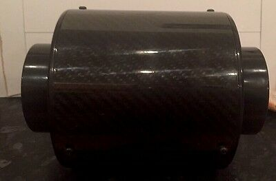 Genuine Carbon Fibre Forced Cold Air Feed Car Induction Kit/universal Filter