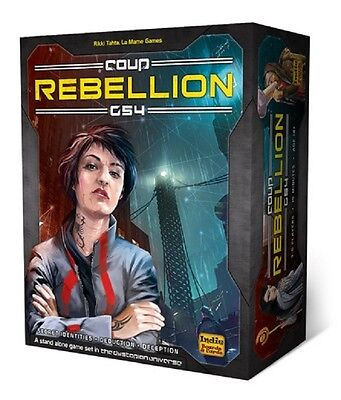 Coup: Rebellion G54 card game (New)