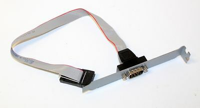 Dell 4P766 Serial Port Connector Full Height Bracket / Cable Precision GX260