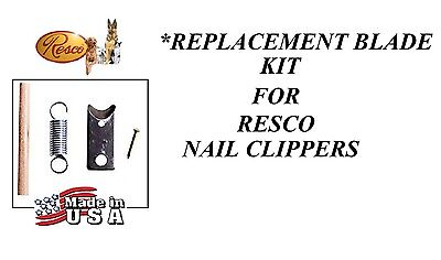 REPLACEMENT BLADE KIT All RESCO NAIL TRIMMER CLIPPER Cutters 747 727, Deluxe