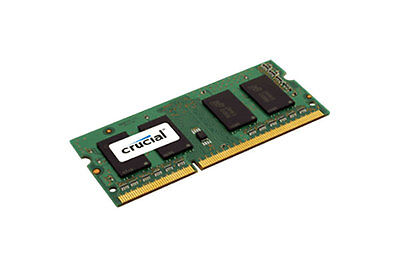 Crucial 8GB DDR3L 1600 MT/s  (PC3L-12800) CL11 SODIMM 204pin 1.35V/1.5V