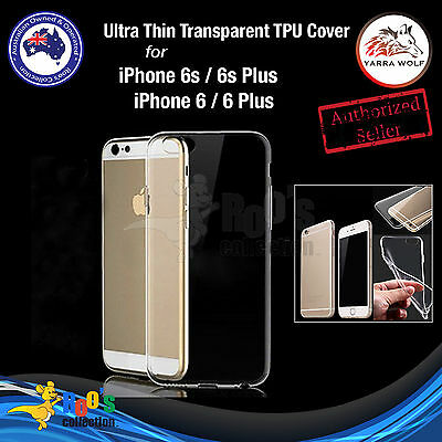 New iPhone 6s/6s Plus/6/6 Plus Soft Clear Transparent TPU Ultra Thin Case Cover