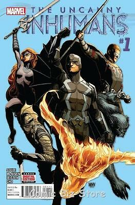 Uncanny Inhumans #1 (2015)  1St Printing  Bagged & Boarded