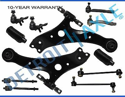Brand New 12pc Complete Front Suspension Kit for Toyota Lexus Vehicles