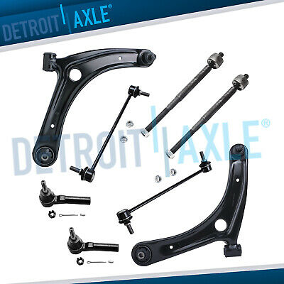 New 8pc Complete Front Suspension Kit for Dodge Caliber Jeep Compass Patriot