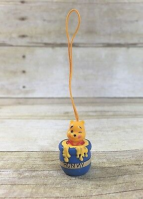 Winnie The Pooh Hunny Pot Miniature Cell Phone Charm