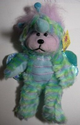 """Skansen Beanie Kid """"sting The Mosquito Bear""""  Mint With Mint Tag"""