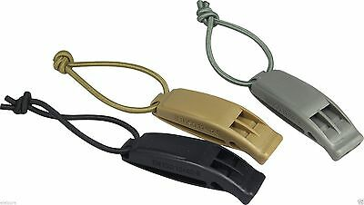 Viper Tactical ABS Survival Bungee Whistle Molle Compatible Lightweight Military
