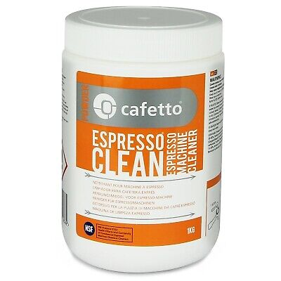 NEW CAFETTO ESPRESSO CLEAN 1kg Machine Cleaner for Professional Use Powder