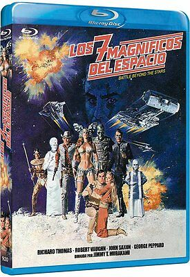 BATTLE BEYOND THE STARS (1980 Robert Vaughn) -  Blu Ray - Sealed Region Free