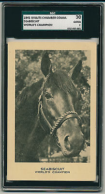 1941 Willits SEABISCUIT  ROOKIE CARD (RC) Pop. 1  Only known example!! (B&BEnt)
