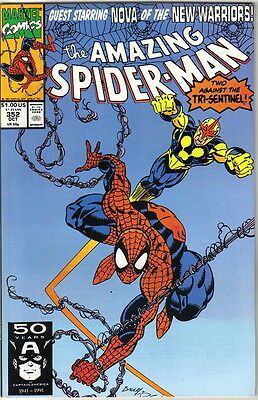 the Amazing Spider-Man Comic Book #352, Marvel 1991 NEAR MINT NEW UNREAD