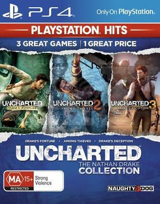 Uncharted The Nathan Drake Collection PS4 Brand New *DISPATCHED FROM BRISBANE*