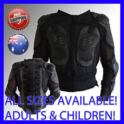 ADULT'S AND CHILDREN'S BODY ARMOUR Motocross ATV Motox Downhill BMX Bike Armor