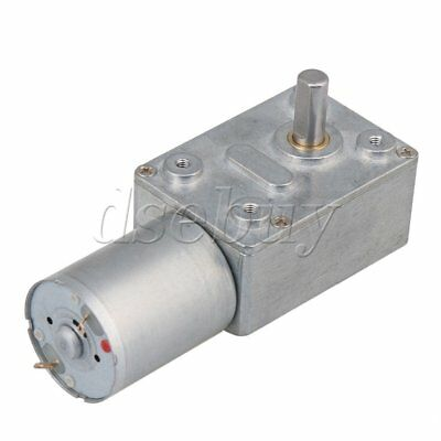 24RPM Low Speed 1.875G DC 12V Motor High Torque Turbo Worm 370 Geared Motor