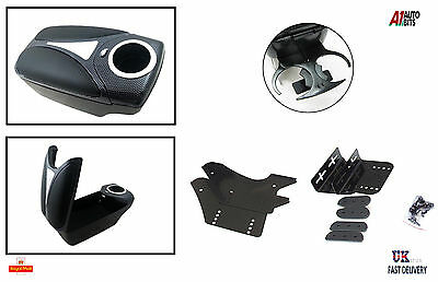 Armrest Carbon  for VAUXHALL Opel Corsa B C D Combo Tigra FRONT BACK CUP HOLDERS
