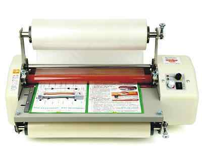 2016 Newest 8350T Laminator Four Rollers Hot Roll Laminating Machine BRAND NEW