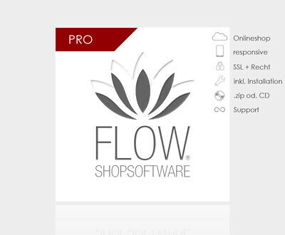 FLOW-Shopsoftware Responsive Pro - flexibles Design Shopsysteme Webshop