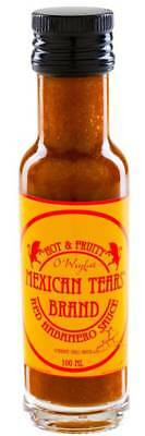 Mexican Tears Red Habanero Sauce (100ml) Chilisauce