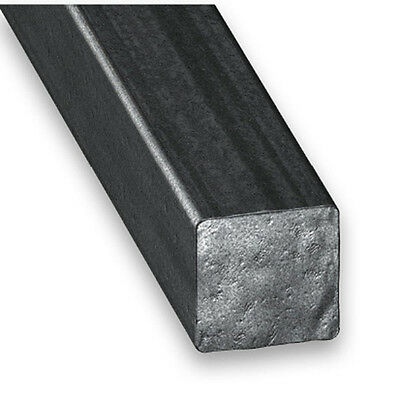 Hot Rolled Steel Square Bar - 8mm-12mm x 1m