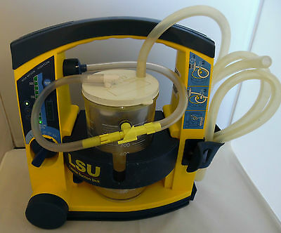Laerdal Suction Unit LSU fitted with Abbott Pot , and good battery