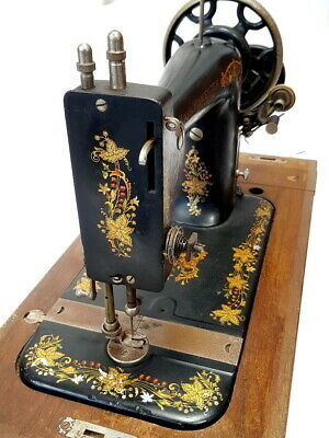 ►Antigua maquina de coser KAYS WORCESTER new paragon d 1901 rare sewing machine►