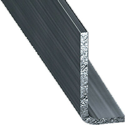 Cold Pressed Steel Unequal Angle Corner Protection - 20mm x 15mm x 1m