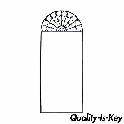 Vintage Ornate Wrought Iron Door Arch Frame Patio Garden Element C 99 x 41