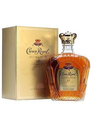 Crown Royal Monarch 75th Anniversary Canadian Whisky 750ml