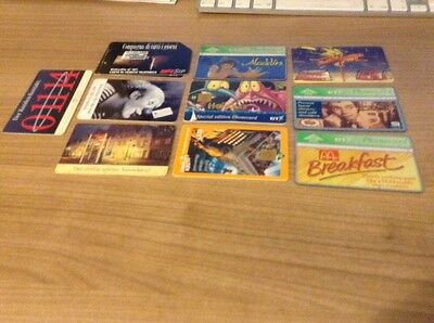 phone cards assorted lot