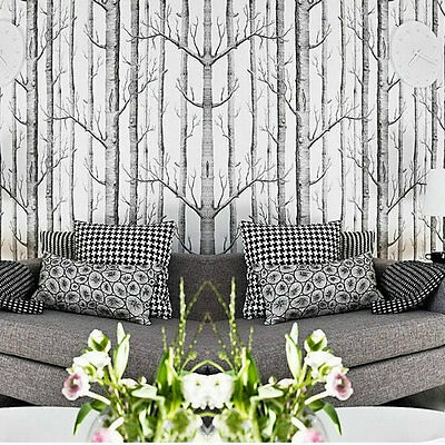 Branches 3D Mural Wallpaper Roll Modern Vinyl Wall Paper for Living Room Home UL
