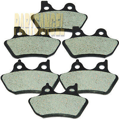 Front Rear Carbon Kevlar Brake Pads 2000-2007 06 Harley FLHRCi Road King Classic