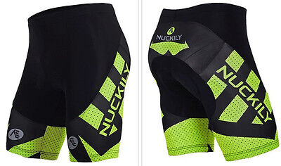 Outdoor Sports Mens Bike Pants Cycling Riding 3D GEL Padded Tights Bicycle Wear