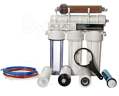 5 Stage RO with DI Resin (Refillable) reverse osmosis filter 150GPD Deionization