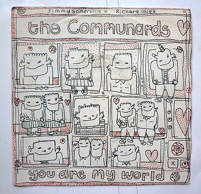 "06057 45 giri - 7"" - The Communard - Breadline Britain - You are my world"