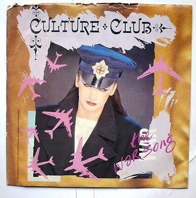 "06049 45 giri - 7"" - Culture Club - La cancion de guerra - The war song"