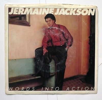"06055 45 giri - 7"" - Jermaine Jackson - Words into action - Our love story"