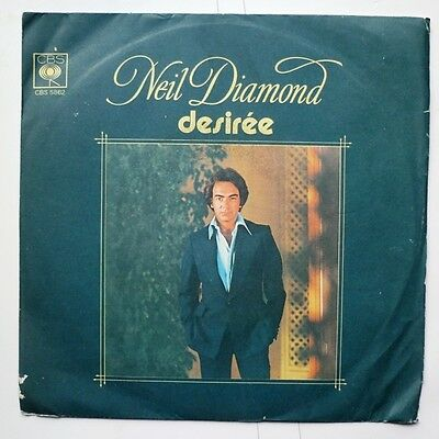 "06089 45 giri - 7"" - Neil Diamon - Desirèe - Once in a While"