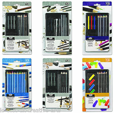 Royal Langnickel Artist Drawing & Sketching 13 Pcs Pencil Tin Set