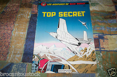 Bd Top Secret Buck Danny No 22 Edition Dupuis De 1977