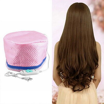 Electric Hair Thermal Treatment Beauty Steamer SPA Nourishing Hair Care Cap UL