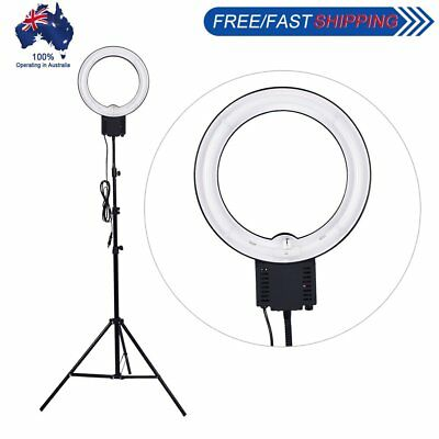 Studio 40W 5400K Diva Ring Light with 2M Light Stand for Make Up Video Photo AU