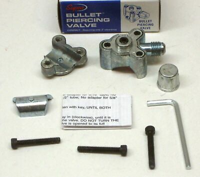 "BPV21 SUPCO Bullet Piercing Valve fits 1/2"" and 5/8"" Tubing 2-n-1 Access"